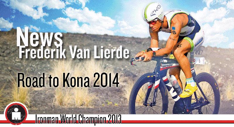 News from Frederik Van Lierde