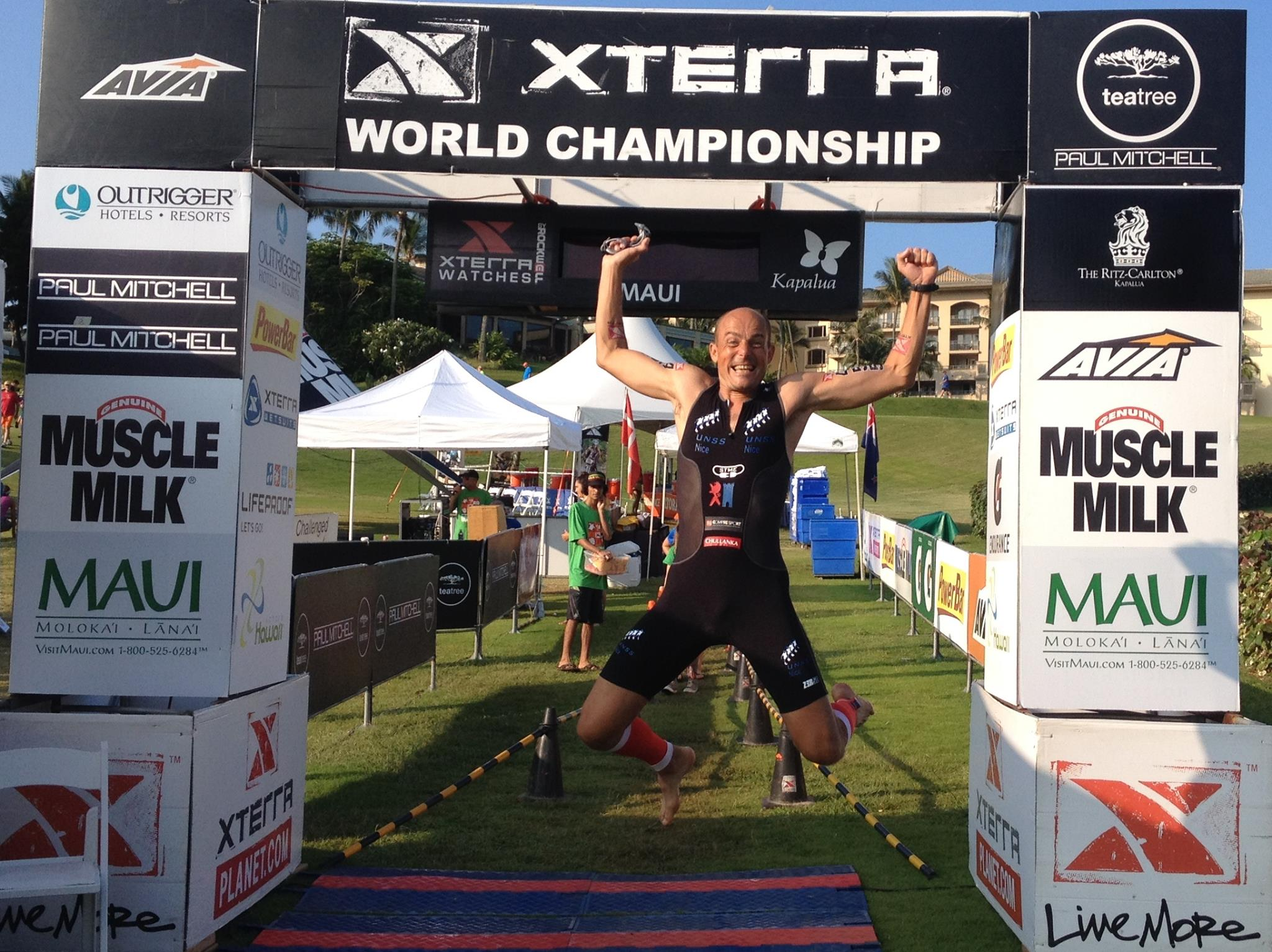 The French XTerra Christophe MAURY