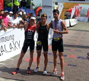 Gomez and Naeth win Ironman 70.3 Panama
