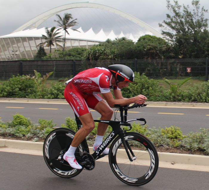 Caveman 3rd at South African Time Trial Champs