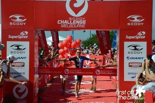 Berkel and Luxford win Challenge Melbourne