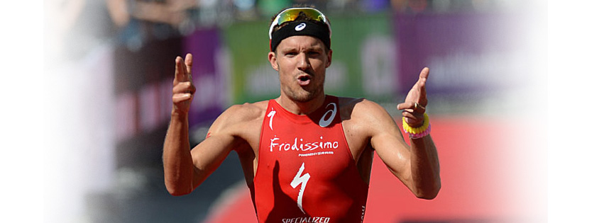 Jan Frodeno in Ironman Frankfurt for his debut
