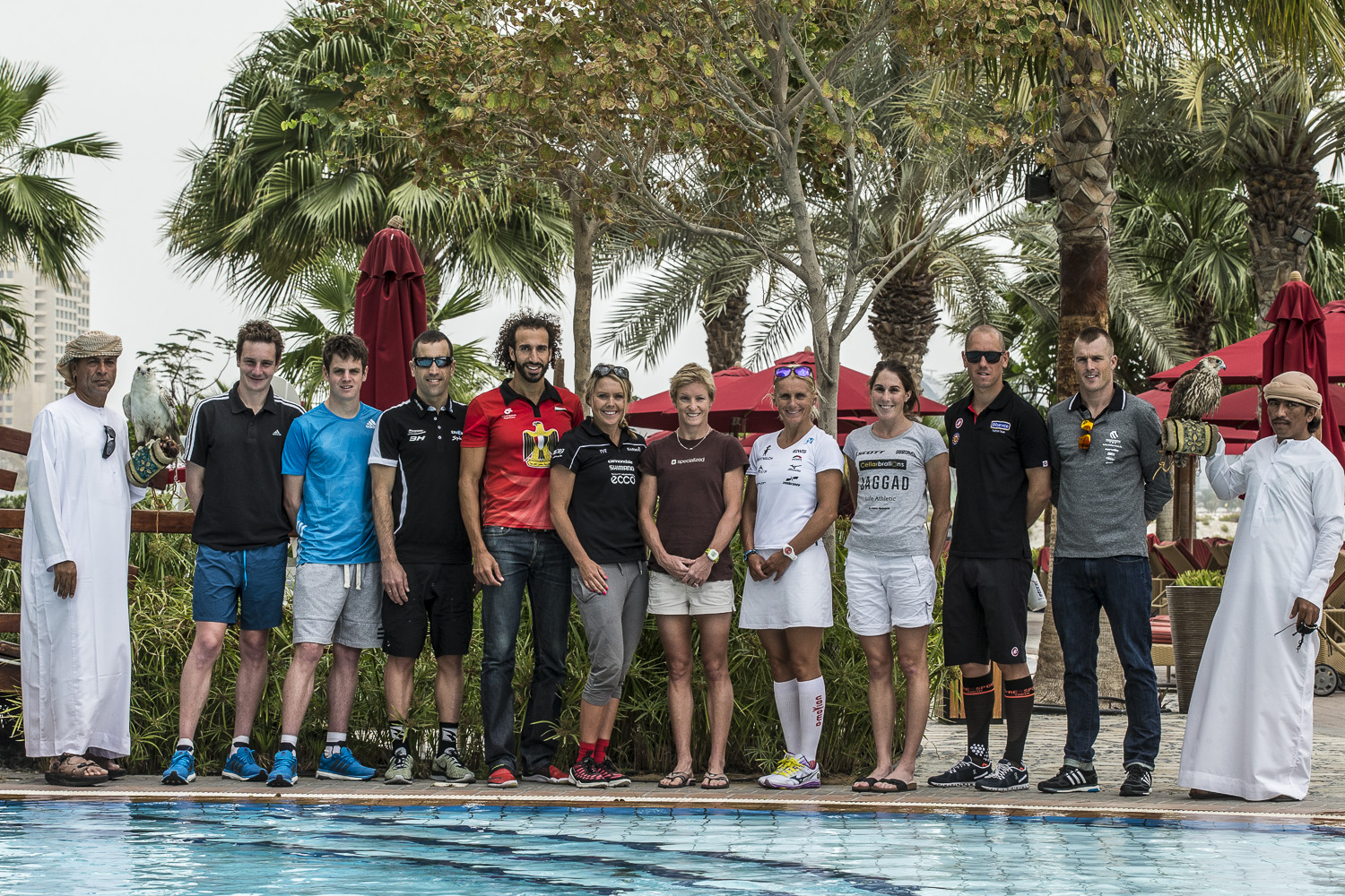 WORLD'S TOP TRIATHLETES GATHER AHEAD OF  ABU DHABI INTERNATIONAL TRIATHLON