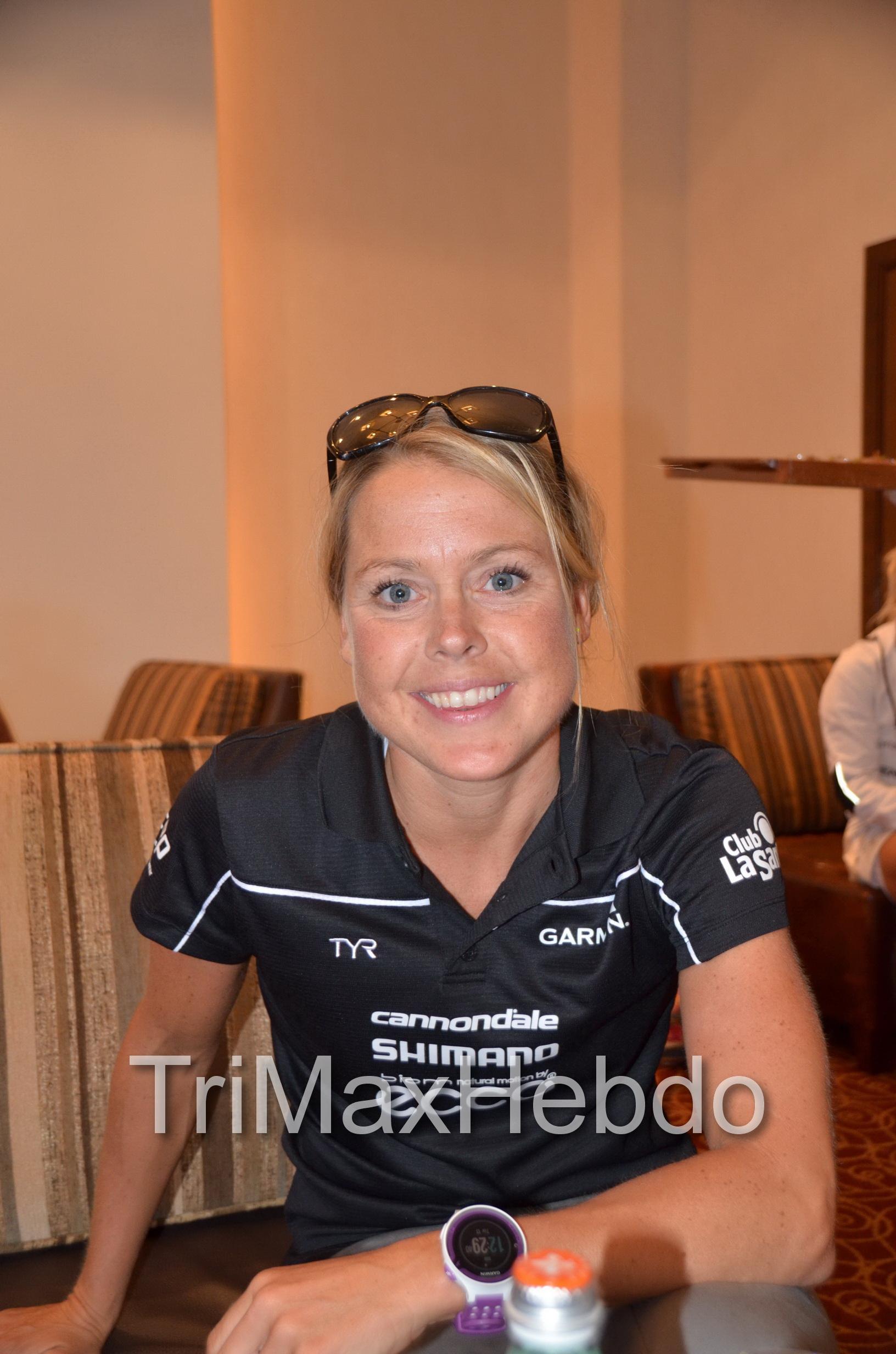 Abu Dhabi Triathlon: Michele Vesterby