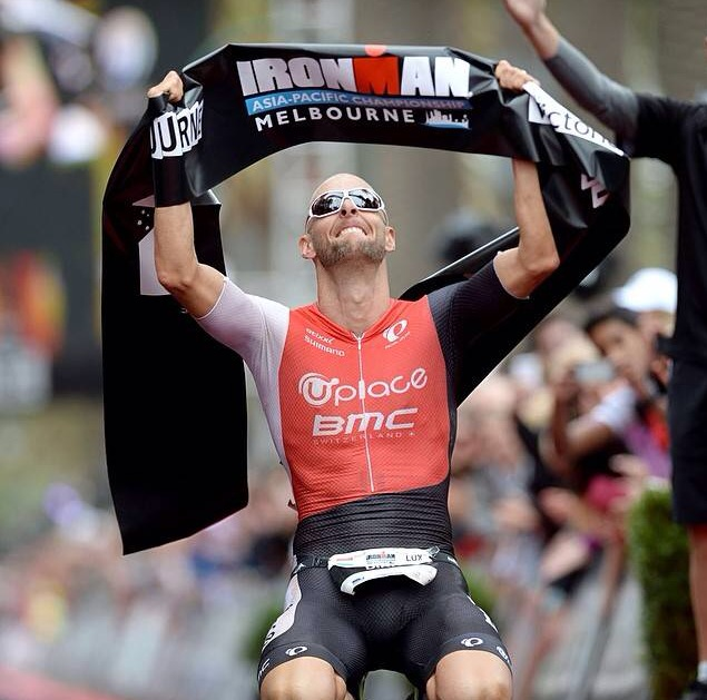 Dirk Bockel wins Ironman Melbourne