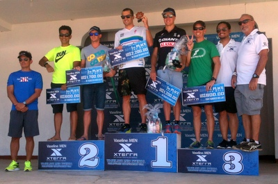 Dan Hugo and Renata Bucher captured the 4th annual Xterra Philippines