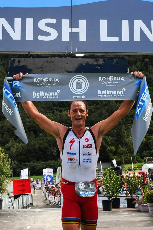 Stoltz, Riveros win XTERRA New Zealand Champs