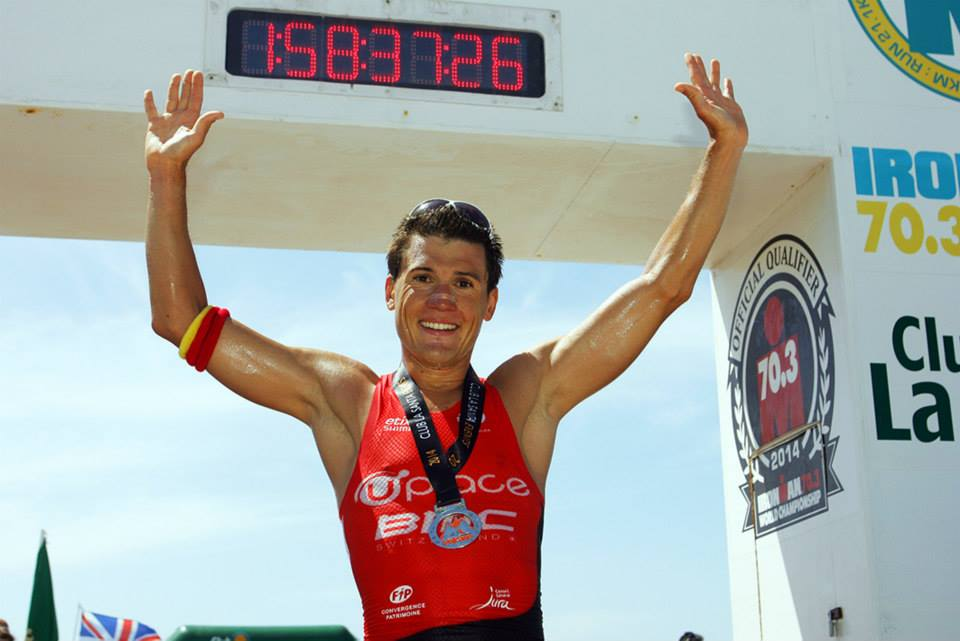 Romain Guillaume and Saleta Castro win 30th Volcano Triathlon 2014