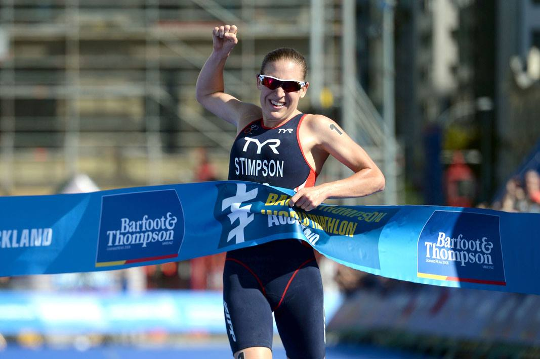 Stimpson (GBR) smashes it in Auckland World Triathlon Series 2014