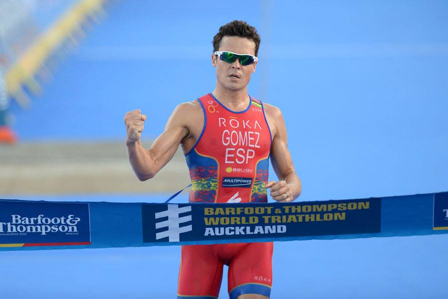 Javier Gomez makes it three from three at season opening Auckland WTS