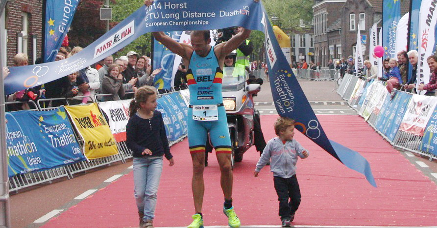 Rob Woestenborghs finally secures European Long Distance Duathlon Championship