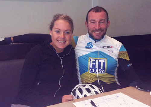 Former Kona legend Van Lierde to help Danish Michelle Vesterby