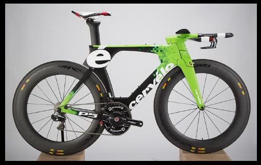 Inside The Ironman World Champion's Custom-Painted P5