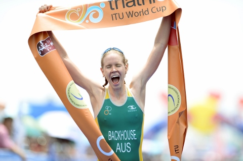 Backhouse makes it two first time World Cup winners in Chengdu