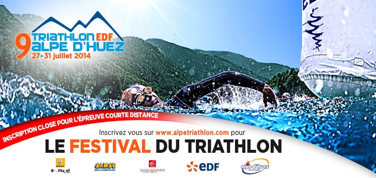 Alpe d'Huez : Closing of registrations for the short distance triathlon!