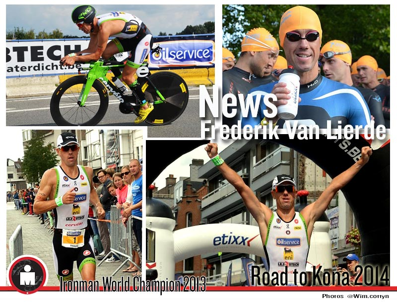Frederik Van Lierde: Road to Kona 2014…Victory in Deinze ½ triathlon‏
