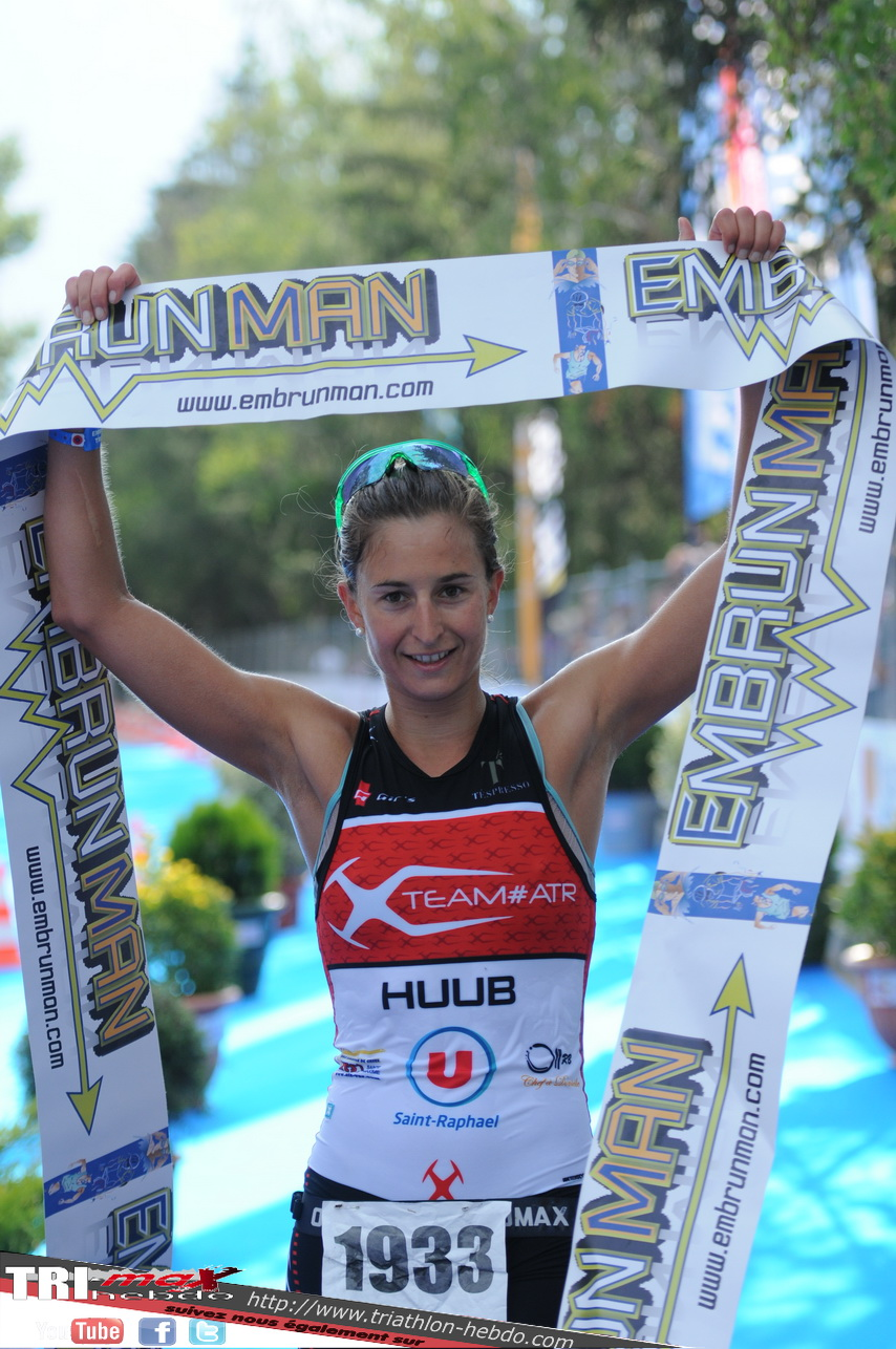 Embrun short distance : Camille Donat and Aurelien Lescure winners