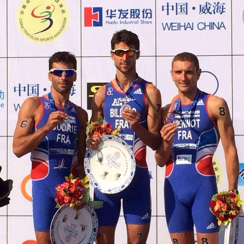 France sweeps men's long distance medals