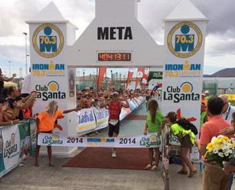 Ironman 70.3 : Will Clarke and Helle Frederiksen winner in Lanzarote