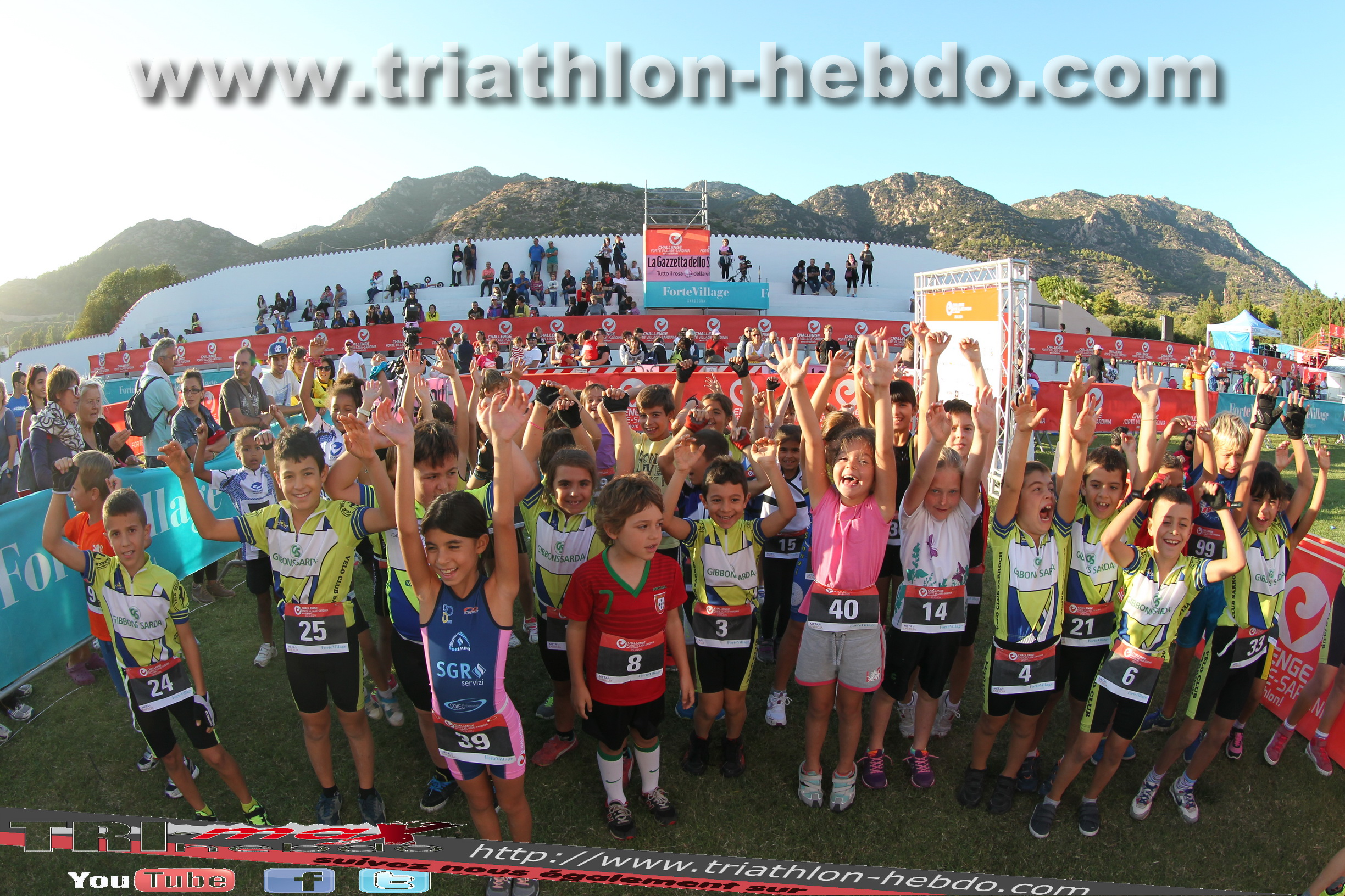 Forte Village Challenge : Race's kids