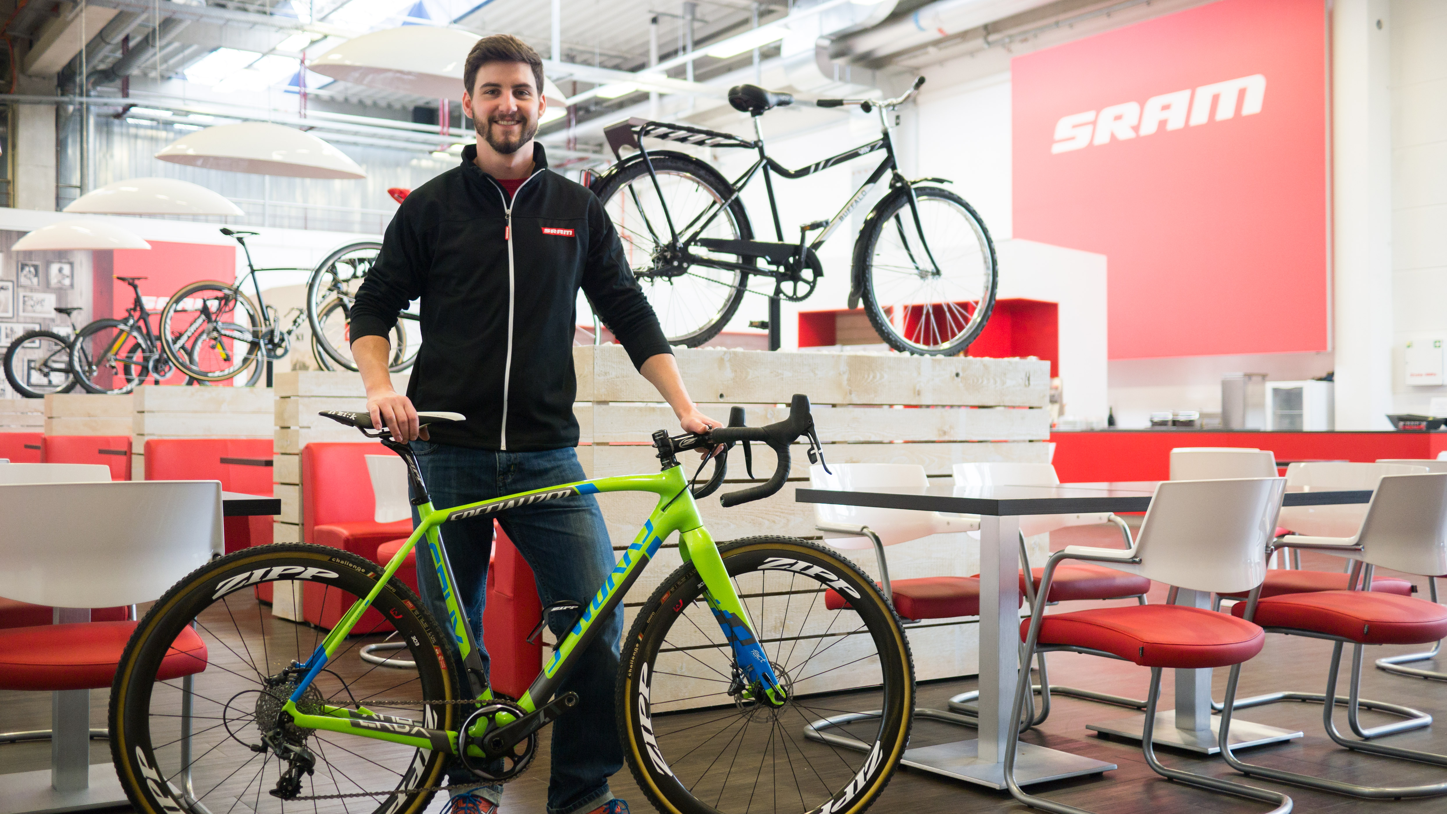 Jan Mueller is SRAM¹s New European Road PR Technical Coordinator‏