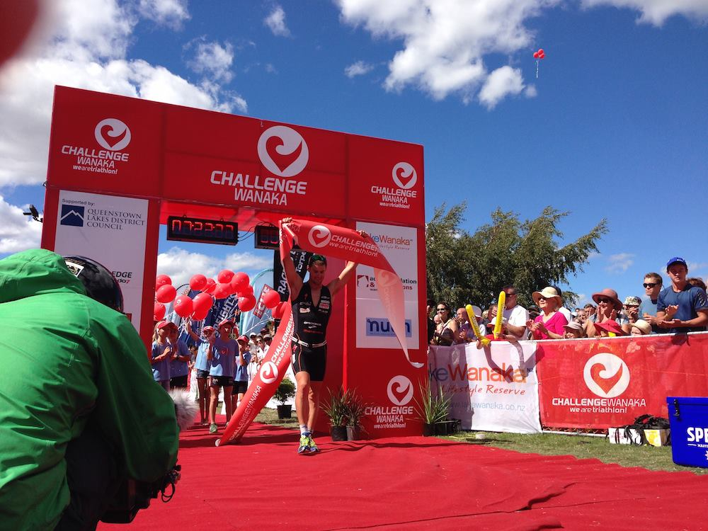 McNeice and Crawford extend Challenge Wanaka dominance on perfect day
