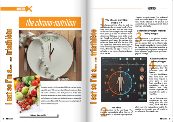 I eat so I'm a… … triathlète : the chrono-nutrition… to read in TrimaX#137