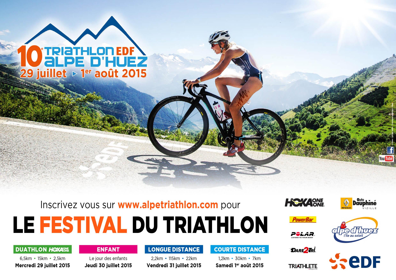 NEWS from Triathlon EDF Alpe d'Huez 2015