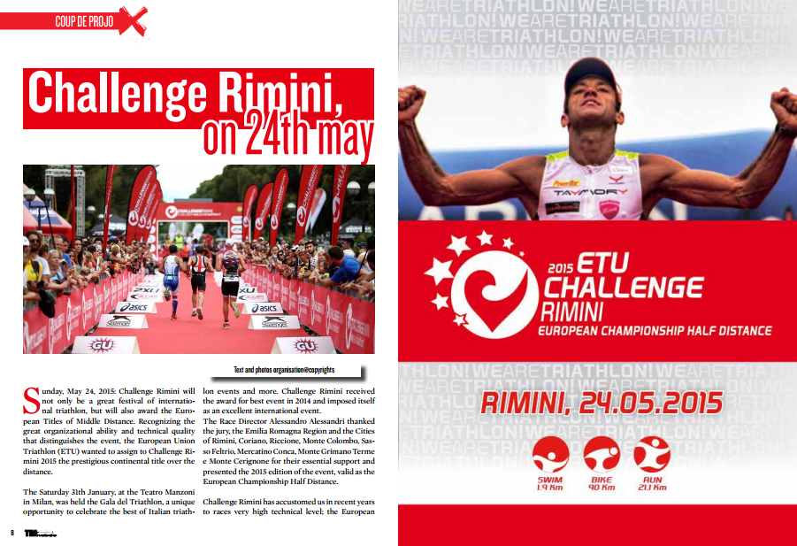Challenge Rimini, on 24th may … to read in TrimaX#138