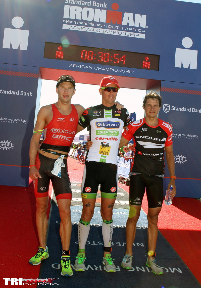 VAN LIERDE AND SWALLOW LAY DOWN A MARKER WITH WINS AT STANDARD BANK IRONMAN AFRICAN CHAMPIONSHIP