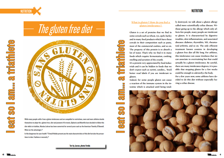 To read in TrimaX#138 : The gluten free diet