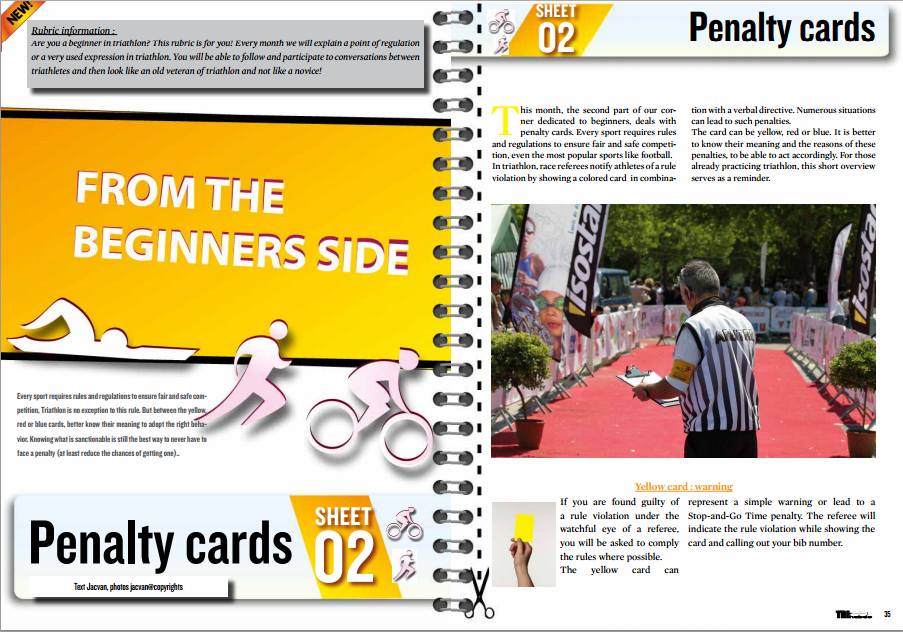 From the beginners side : penalty cards … to read in TrimaX#138