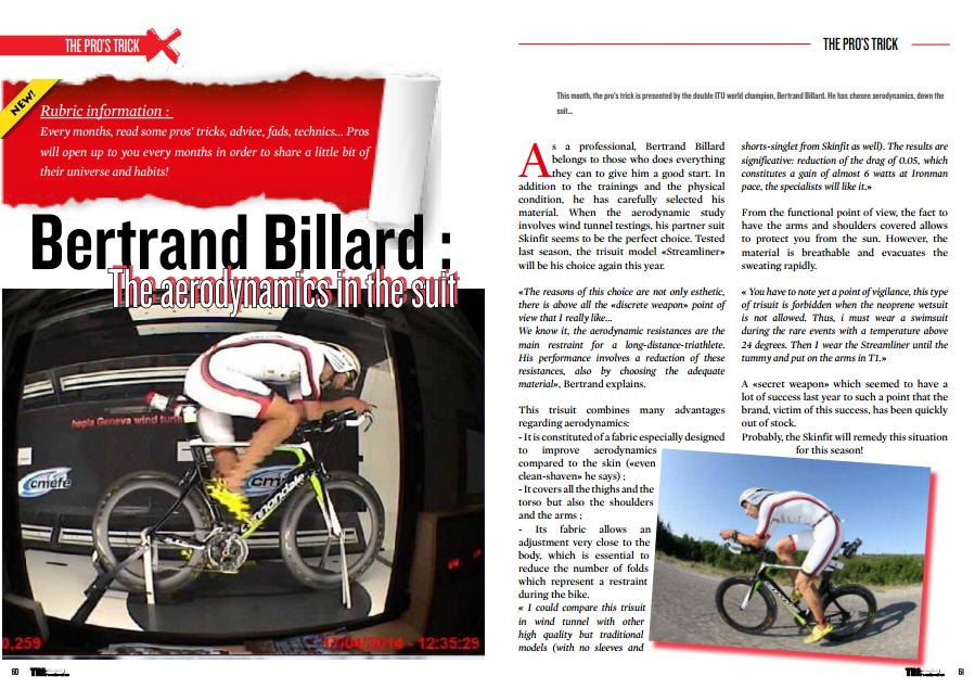 Bertrand Billard's pro trick to read in TrimaX#139