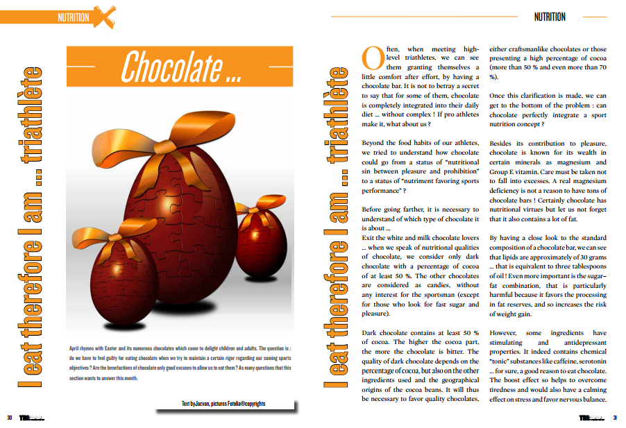 To read in TrimaX#139 : Chocolate…