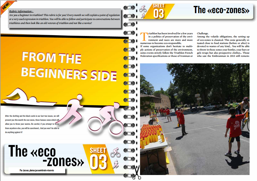 From the beginners side, sheet n°3  : the « eco-zones »