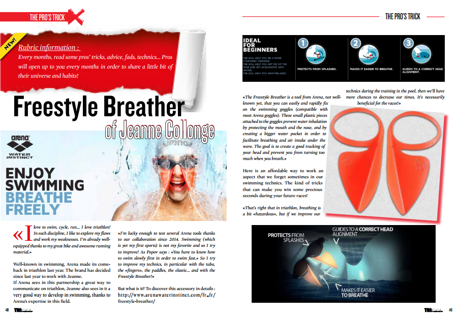 Freestyle Breather of Jeanne Collonge to read in TrimaX#140