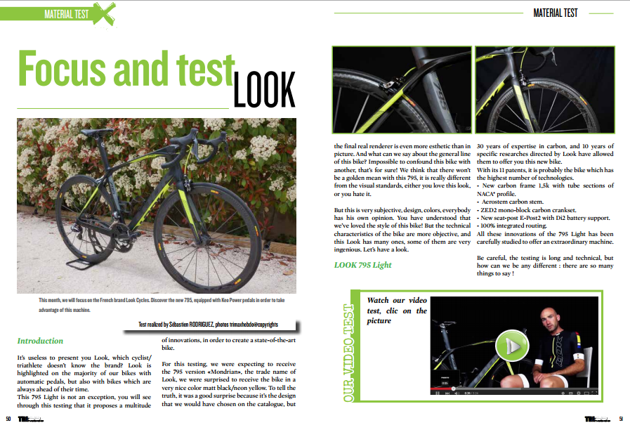 Focus and test LOOK to read in TrimaX#140