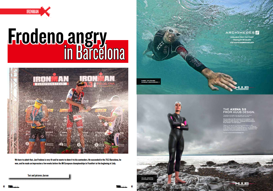 Frodeno angry in Barcelona… to read in TrimaX#141