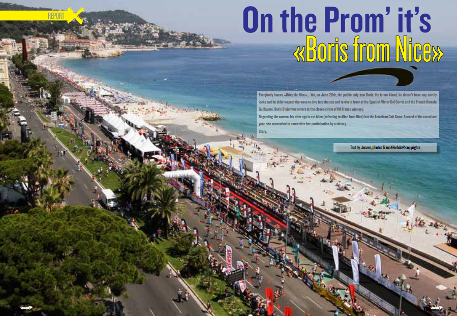 On the Prom' it's «Boris from Nice» to read in TrimaX#142