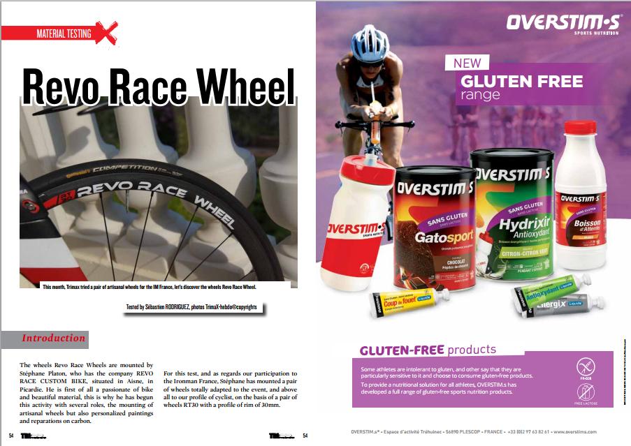 Revo Race Wheel to read in TrimaX#142
