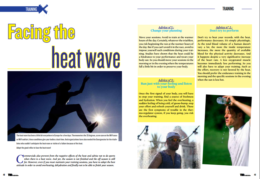 Facing the heat wave to read in TrimaX#142