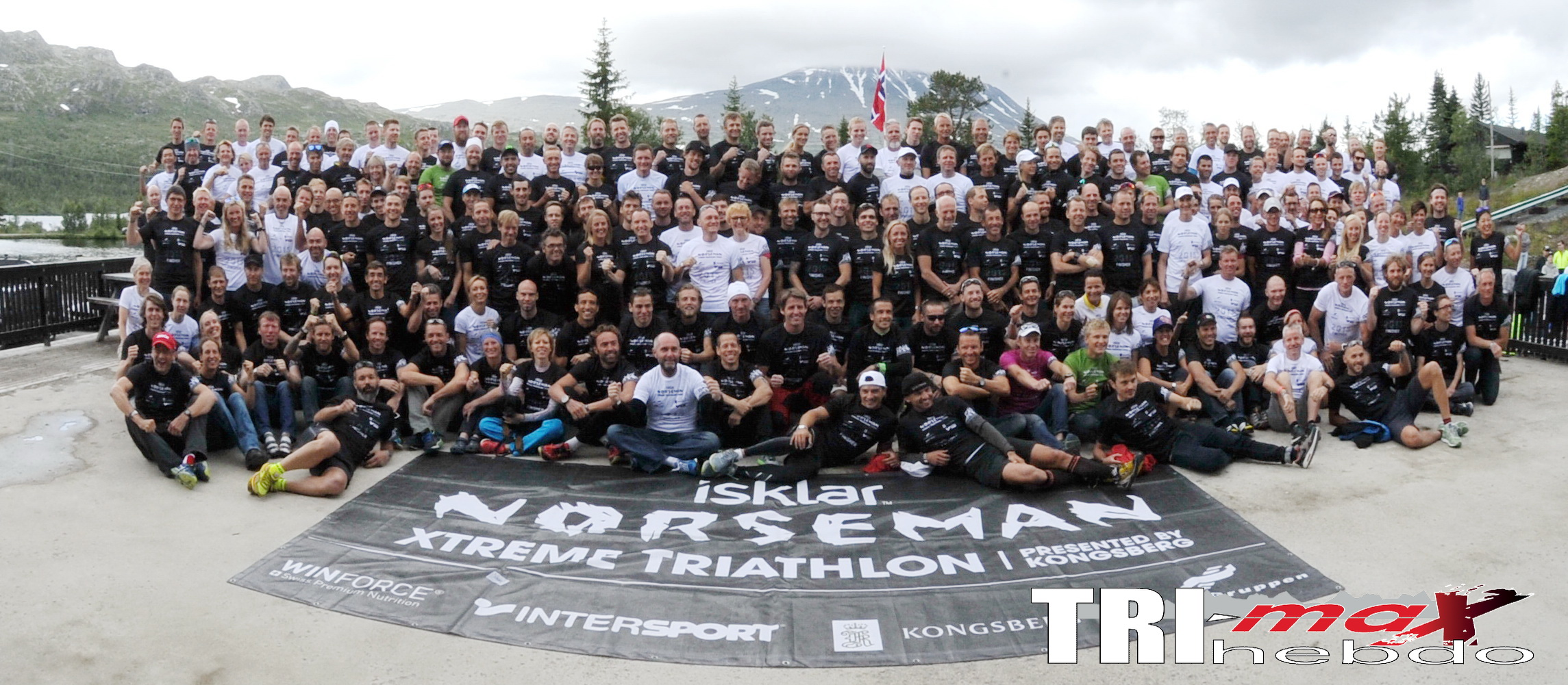 Hovda, Lie win 13th annual Isklar Norseman Xtreme Triathlon