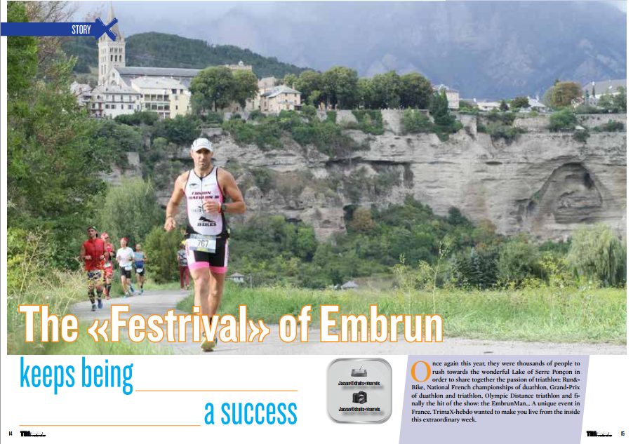 The «Festrival» of Embrun keeps being a success to read in TrimaX#144