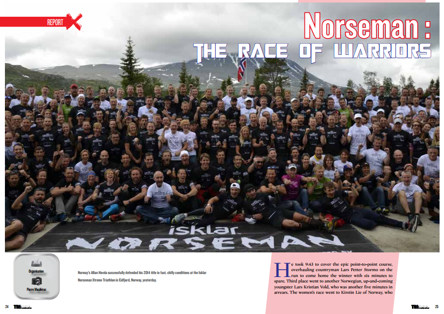 Norseman : the race of warriors to read in TrimaX#144