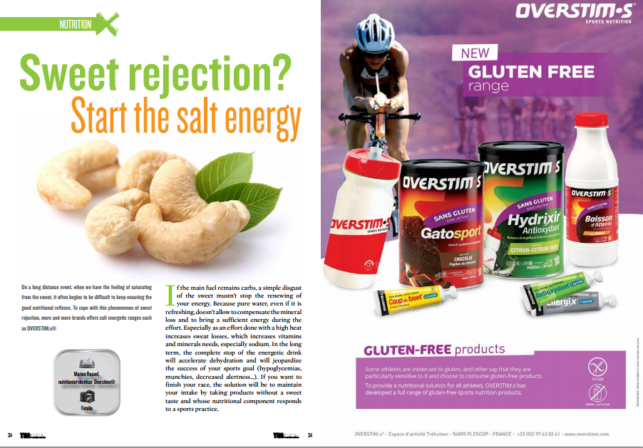 Sweet rejection? Start the salt energy to read in TrimaX#144