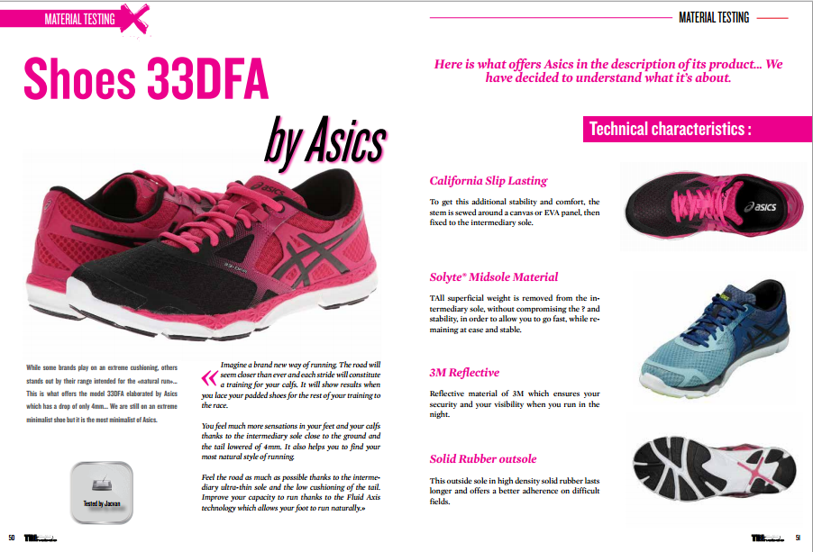 Shoes 33DFA by Asics to read in TrimaX#144
