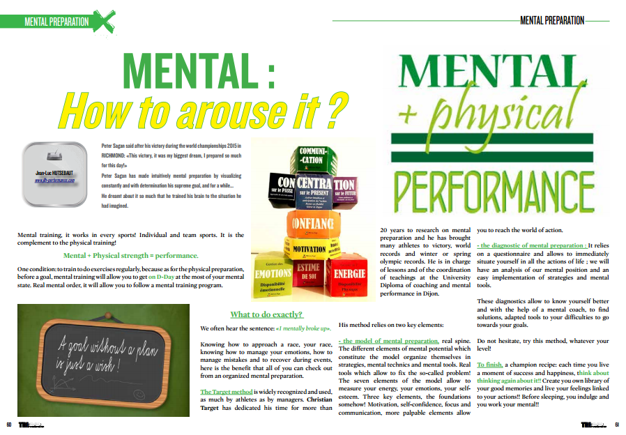 MENTAL : How to arouse it ? to read in TrimaX#145
