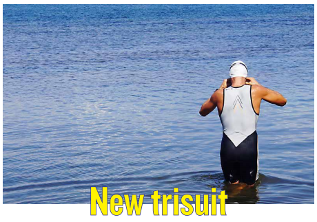 MATERIAL TEST : New trisuit by DARE2TRI