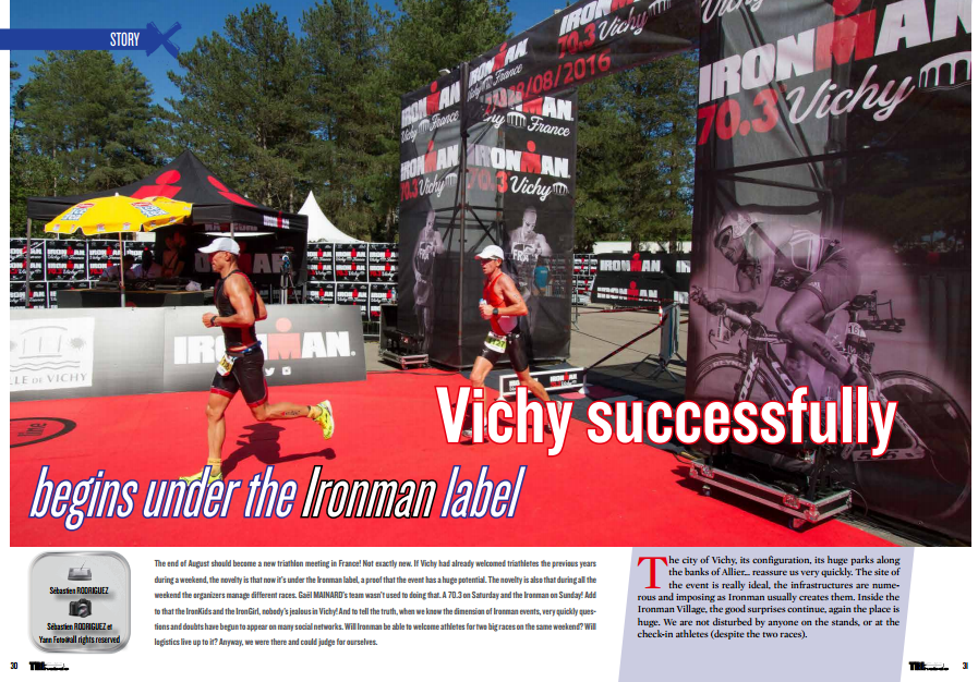 Vichy successfully begins under the Ironman label to read in TrimaX#145