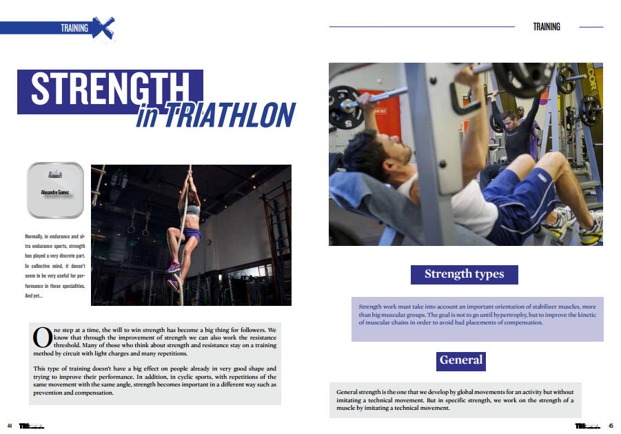 Strength in triathlon … to read in TrimaX#146